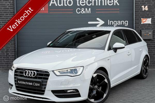 Audi A3 Sportback 1.8 TFSI 2xsline/s-tronic/navi/b&o/cruise