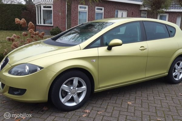 Seat Leon 1.6 Active Style,5 deurs, airco.