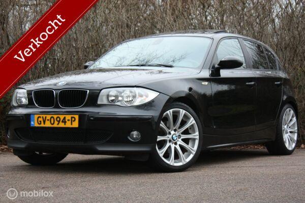 Youngtimer BMW 1-serie 118 High Ex AUTOMAAT schuifdak/bomvol