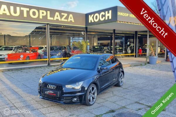 "Audi A1  1.4 TFSI S-Tronic 185 pk 3x S-Line/18""/Xenon/Keyless"