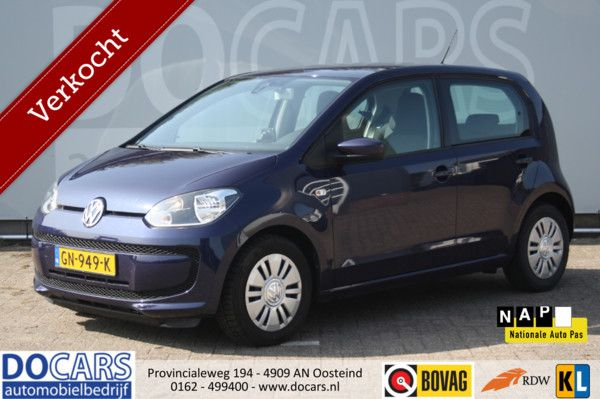 Volkswagen Up! 1.0 move up! BlueMotion (5-deurs)