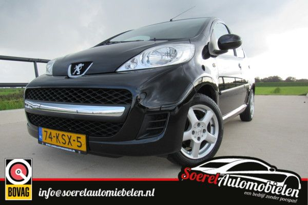 Peugeot 107 1.0-12V XS AUTOMAAT, elektrische ramen, centr. vergrendeling,