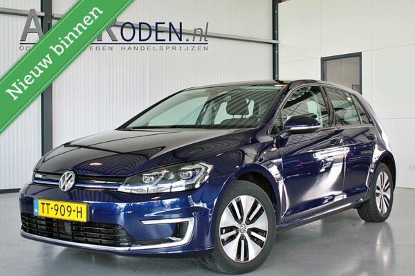 Volkswagen Golf e-Golf 100kw/35,8kwh Incl BTW Warmtepomp/Best. Ass. pakket