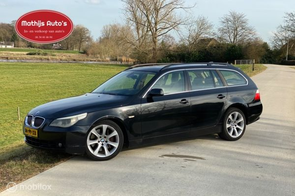 BMW 5-serie Touring 535d High Executive Head-up PANO Leer PDC