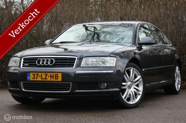 YOUNGTIMER Audi A8 3.7 quattro 2003 2 eig/historie/nw banden