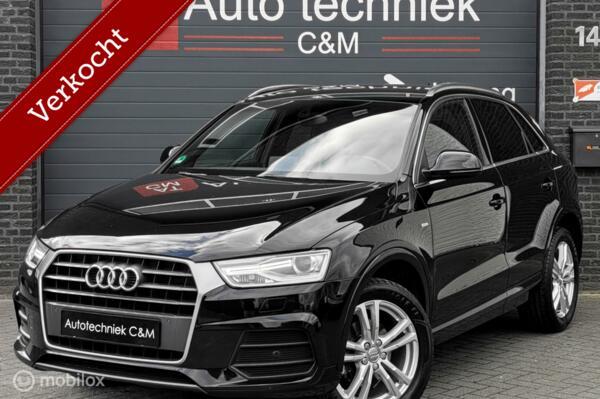 Audi Q3 1.4 TFSI 2xS-line/S-tronic/Led/Keyles/Pdc/Cruise/nav