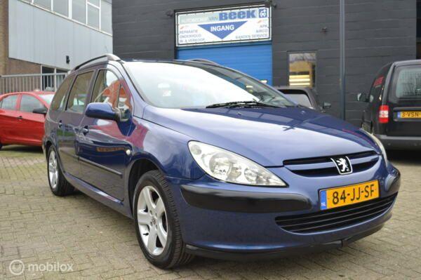 Peugeot 307 Break 1.6-16V XS, Airco,Trekhaak, Apk 01-2022