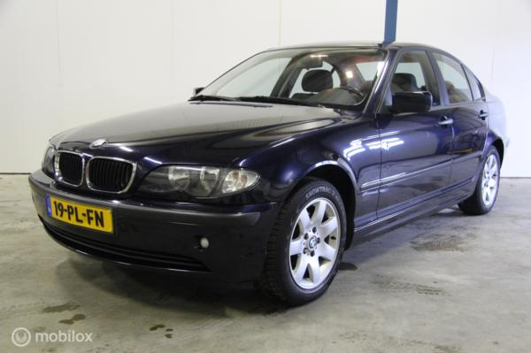 BMW 3-serie 316i Black&Silver II
