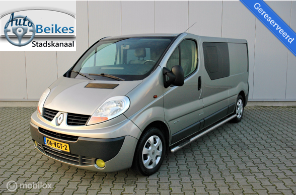 Renault Trafic 2.0 dCI dubbele cabine, 115 pk.