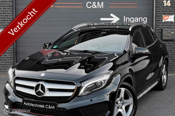Mercedes GLA-klasse 200AMG/156pk/cruise/camera/pdc/leder/led