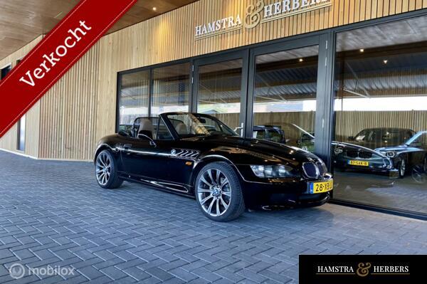 BMW Z3 Roadster 1.8 zwart