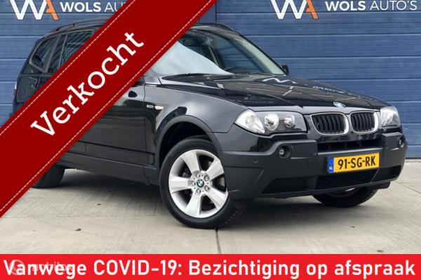 BMW X3 2.0i Introduction / VERKOCHT!