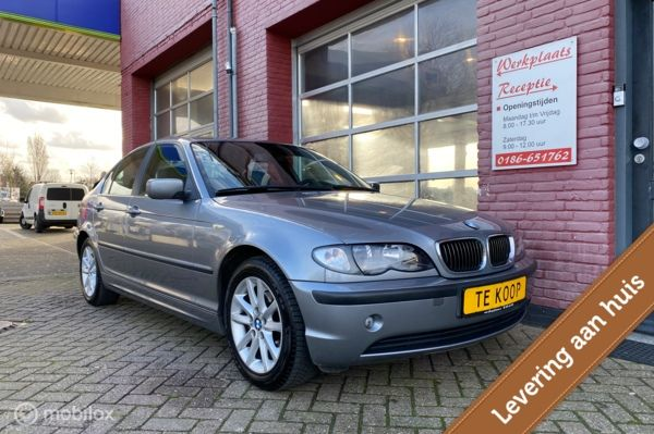 BMW 3-serie 318i Special Executive, Leer, NW ketting, Airco