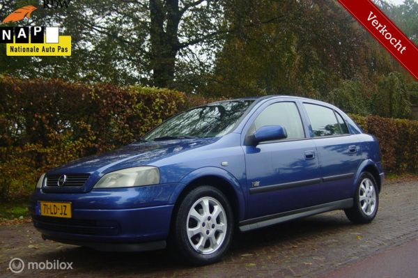 OPEL ASTRA 1.6 8V ( AIRCO CRUISE CONTR ) Bwj 11-2002 PLAATJE