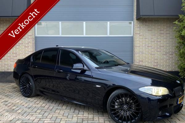 BMW 5-serie 520d High Executive M Uitvoering Breyton 20 Inch