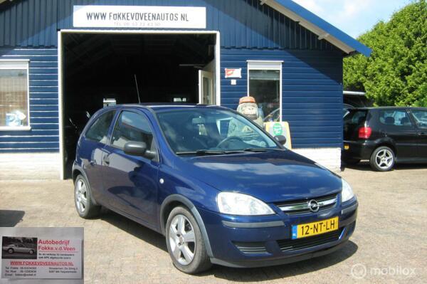 Opel Corsa 1.2-16V Garantie, alle inruil mogelijk