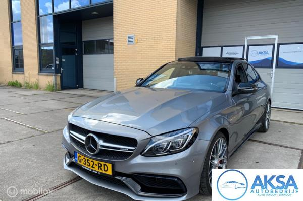 Mercedes C-klasse 63 AMG S Panoramadak | Burmester | Head-Up