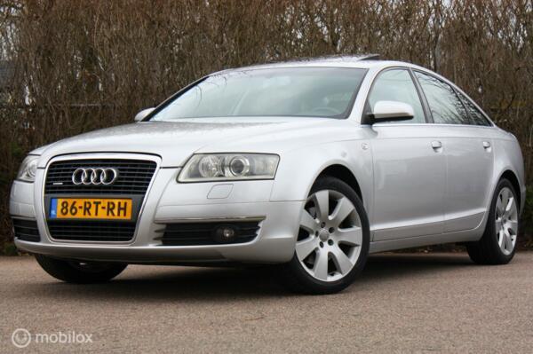 YOUNGTIMER Audi A6 3.2 FSI V6 quattro AUT schuifdak/trekhaak