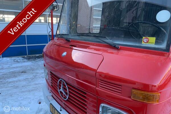 Verkocht Mercedes 409 Lang Hoog Gesloten Benzine camper