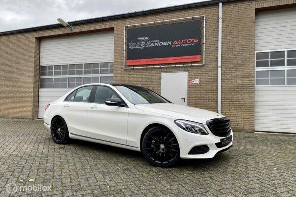 Mercedes-Benz C200 AMG exclusive, memory stoelen, Burmester