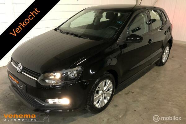 Volkswagen Polo 1.0 12v 5drs, Airco, Stoelverw. Nieuwstaat!!