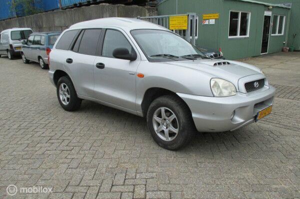 Onderdelen Hyundai Santa Fe 2.0 CRDi 2001