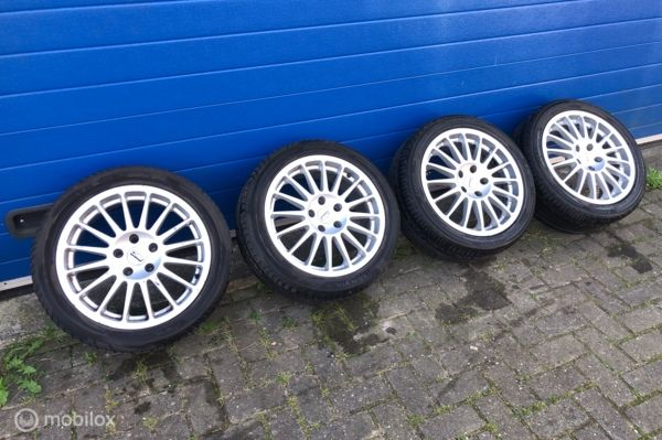 Velg origineel set lichtmetaal joe wheels