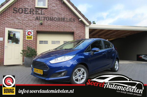 Ford Fiesta 5d automaat EcoBoost Titanium X cruise, clima, Psensor