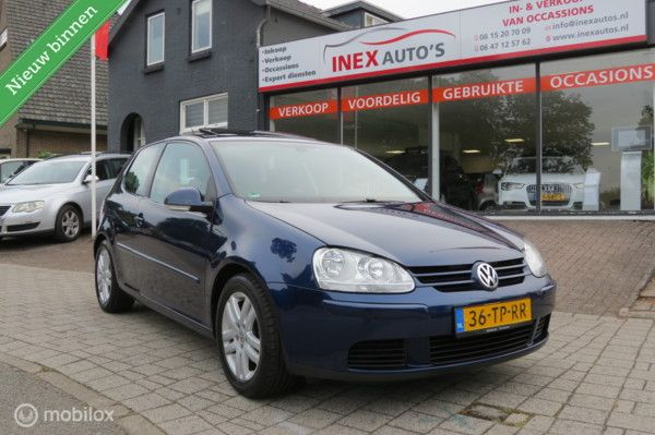 Volkswagen Golf 1.6 FSI Optive 2 Atomat NAP Schuifdak BJ 07