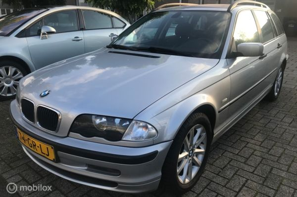 BMW 3-serie Touring 318i 278.dkm airco cruise pdc achter apk nieuw