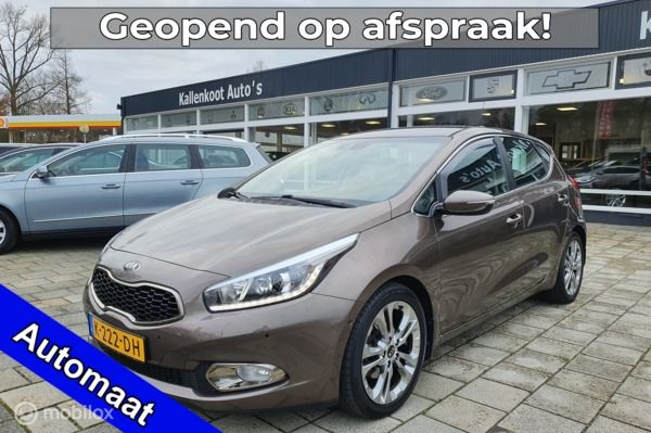Kia cee'd 1.6 GDI Super Pack Automaat, LED, Lane-assist, PDC