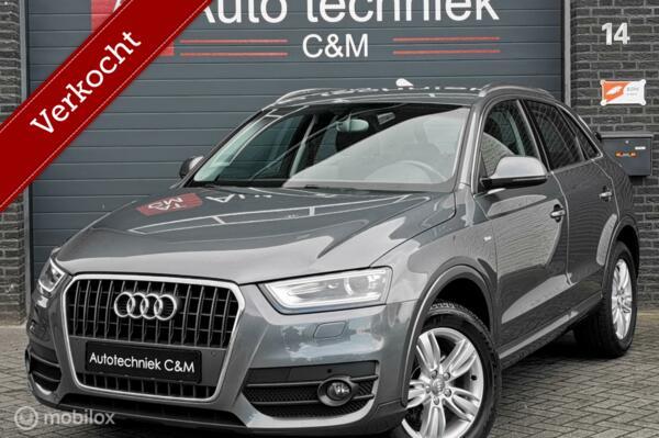 Audi Q3 1.4 TFSI S-line/Stronic/Navi/Trekhaak/150pk/Cruise/
