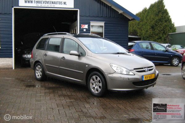 Peugeot 307 SW 1.6 16V Kan ook als 7 Persoons auto Alle inruil