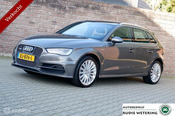 Audi A3 Sportback 1.4 e-tron PHEV Ambition Pro S-Line plus panorama/leer/led/nav/lmv18