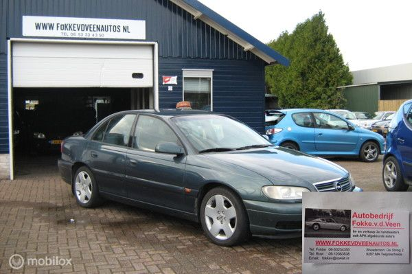 Opel Omega 2.2i-16V Zuinige 4 Cilinder Trekh Airco Alle inruil
