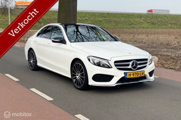 Mercedes C-klasse 250 CDI Aut AMG Edition 1 uitv. Vol Opties