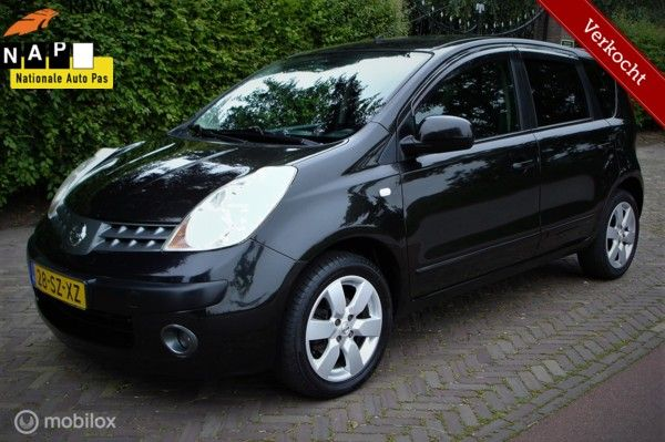 Nissan Note 1.6 First Note (Bj 2006) Verkocht !