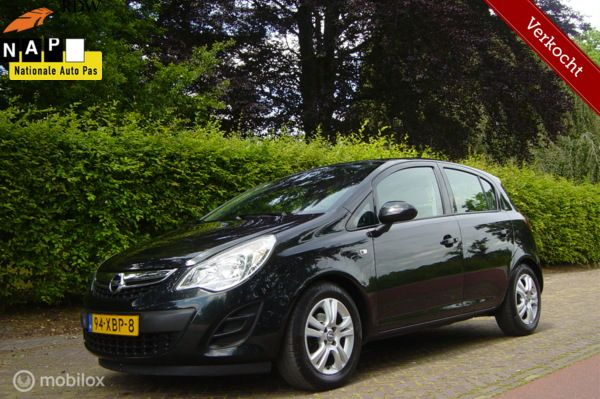 OPEL CORSA 1.3 CDTI BUSINESS EDITION Bwj 2012 IN NIEUWSTAAT