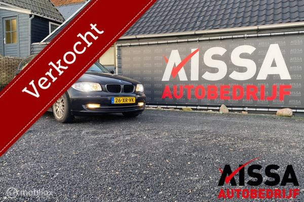 BMW 1-serie 118d Executive Airco/Aux/stuurwiel bediening