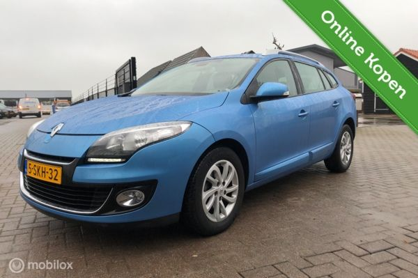 Renault Megane Estate 1.5 dCi Expression Navi PDC Cruise Trekhaak