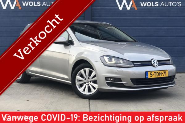 Volkswagen Golf 1.6 TDI Highline BlueMotion / VERKOCHT!