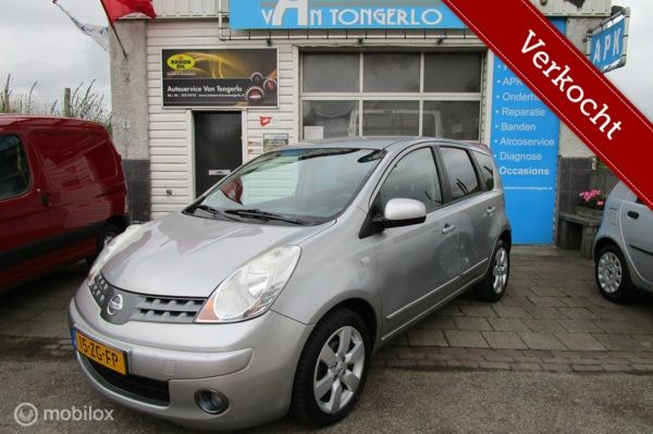 Nissan Note 1.6 Acenta 168dkm Org Ned Airco VERKOCHT!