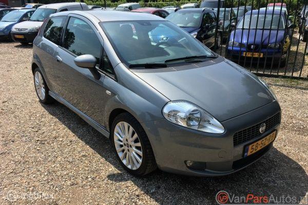 Fiat Grande Punto 1.4-16V Sport Airco,nieuwe apk,1ste eigena