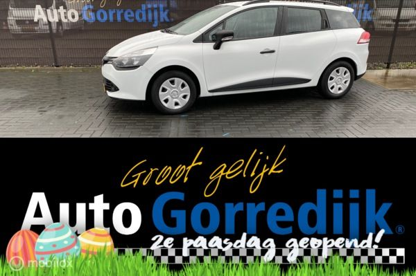 Renault Clio 1.5 dCi ECO Authentique Nieuwstaat Bj 2016