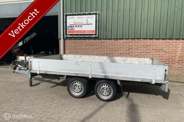 Anssems PSX2 plateauwagen aanhanger 330x180 2000KG