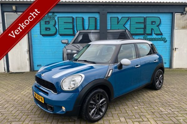 SOLD! Mini Countryman 1.6 Cooper S Chili. 2011 Nwe APK. 184pk!
