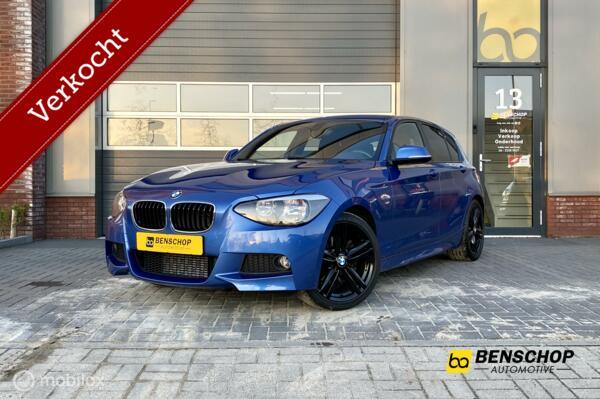 BMW 118i M Pakket Navi Alcantara Airco Stoelverwarming PDC