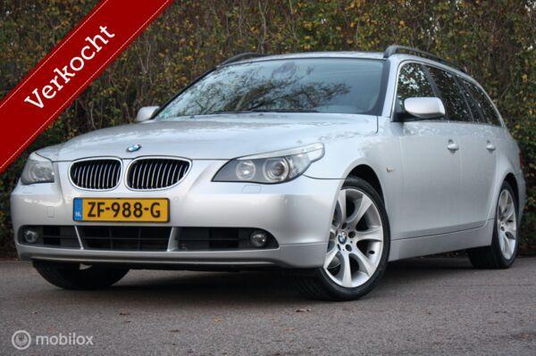 YOUNGTIMER BMW 525i Touring comfortstoel/panorama/trekhaak