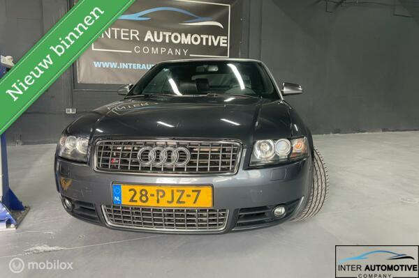 VOOR DE ECHTE LIEFHEBBER!! Originele Audi S4 4.2 V8 QUATTRO