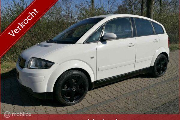 Audi A2 - 1.4 5 zitter km. stand 108.245 APK 10-2020